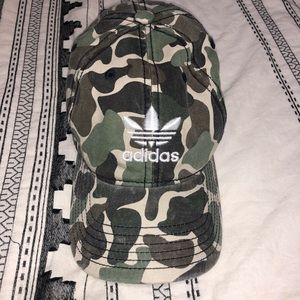 Camo Adidas Hat